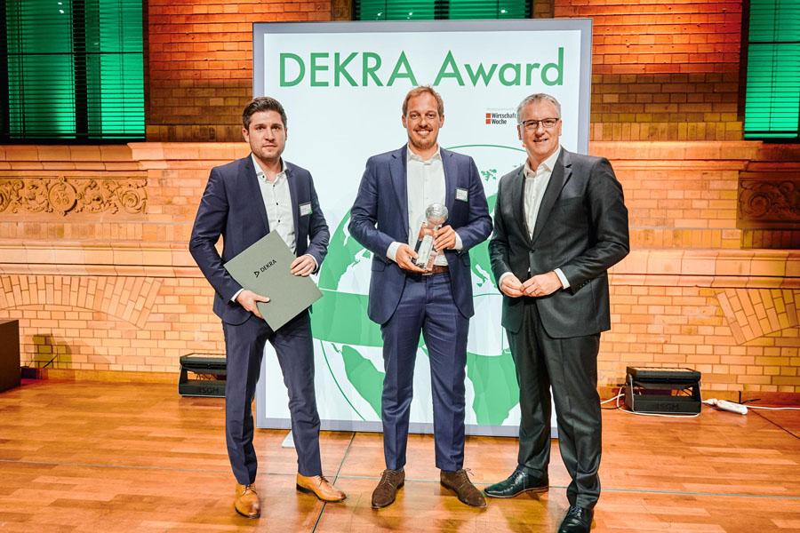 Bosch eBike ABS wint DEKRA Award – voor meer veiligheid in het verkeer