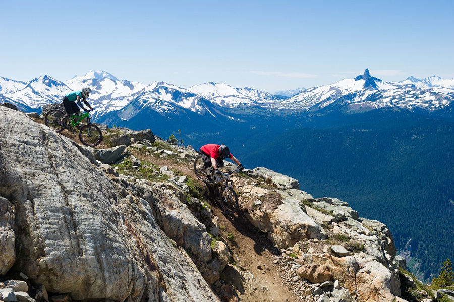 Epic Mountain Biking on the Whistler Bike Park's Top of the World