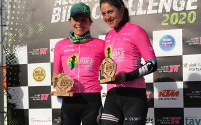 Karen Brouwer en Naima Madlen Diesner winnen Algarve Bike Challenge