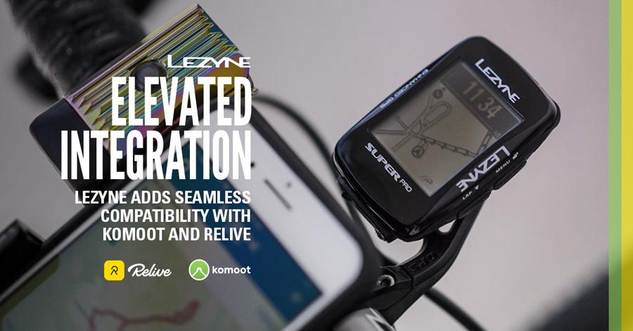 Uitgebreide integratie voor Lezyne-GPS
