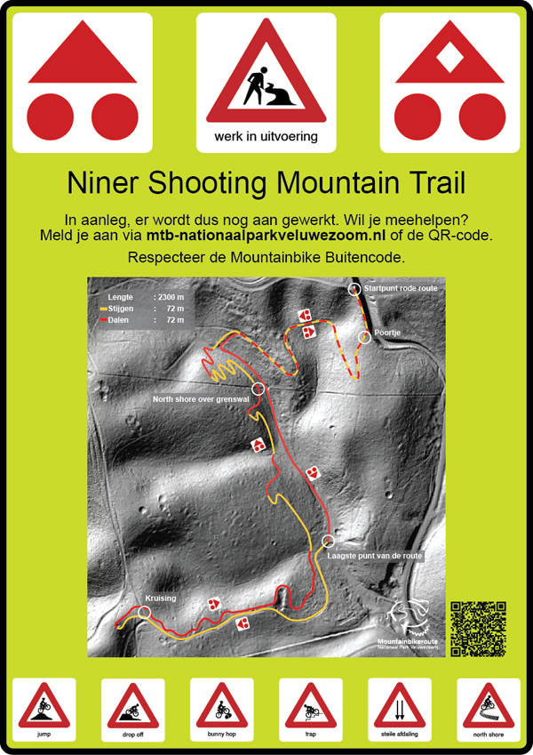 Niner Shooting Mountain Trail