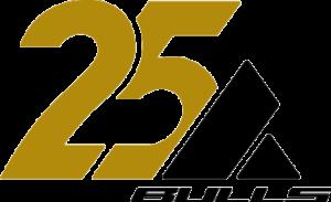 logo 25 jaar bulls