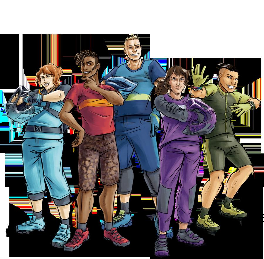 Met vijf nieuwe karkassen begint een decennium van superhelden voor alle trails.