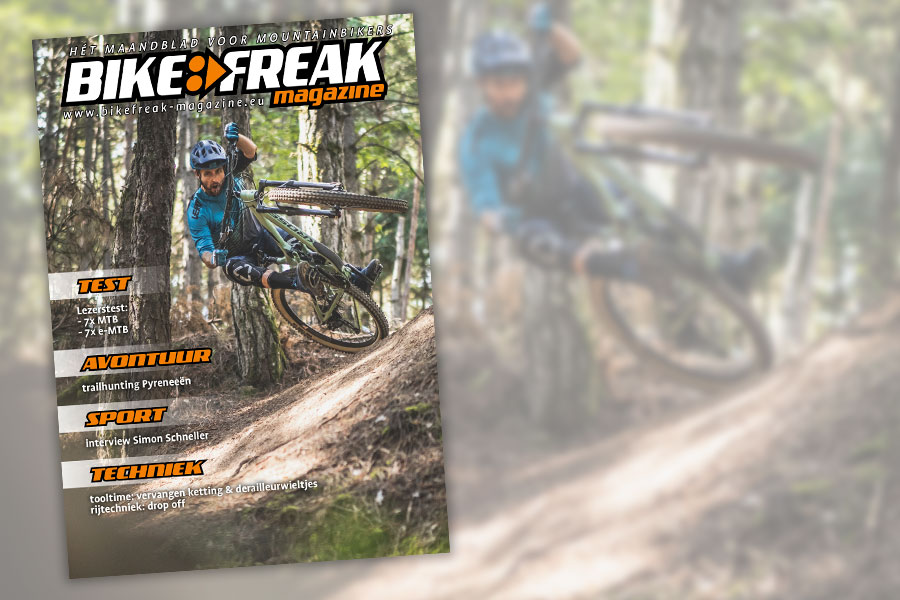 Cover montage Bikefreak-magazine 115